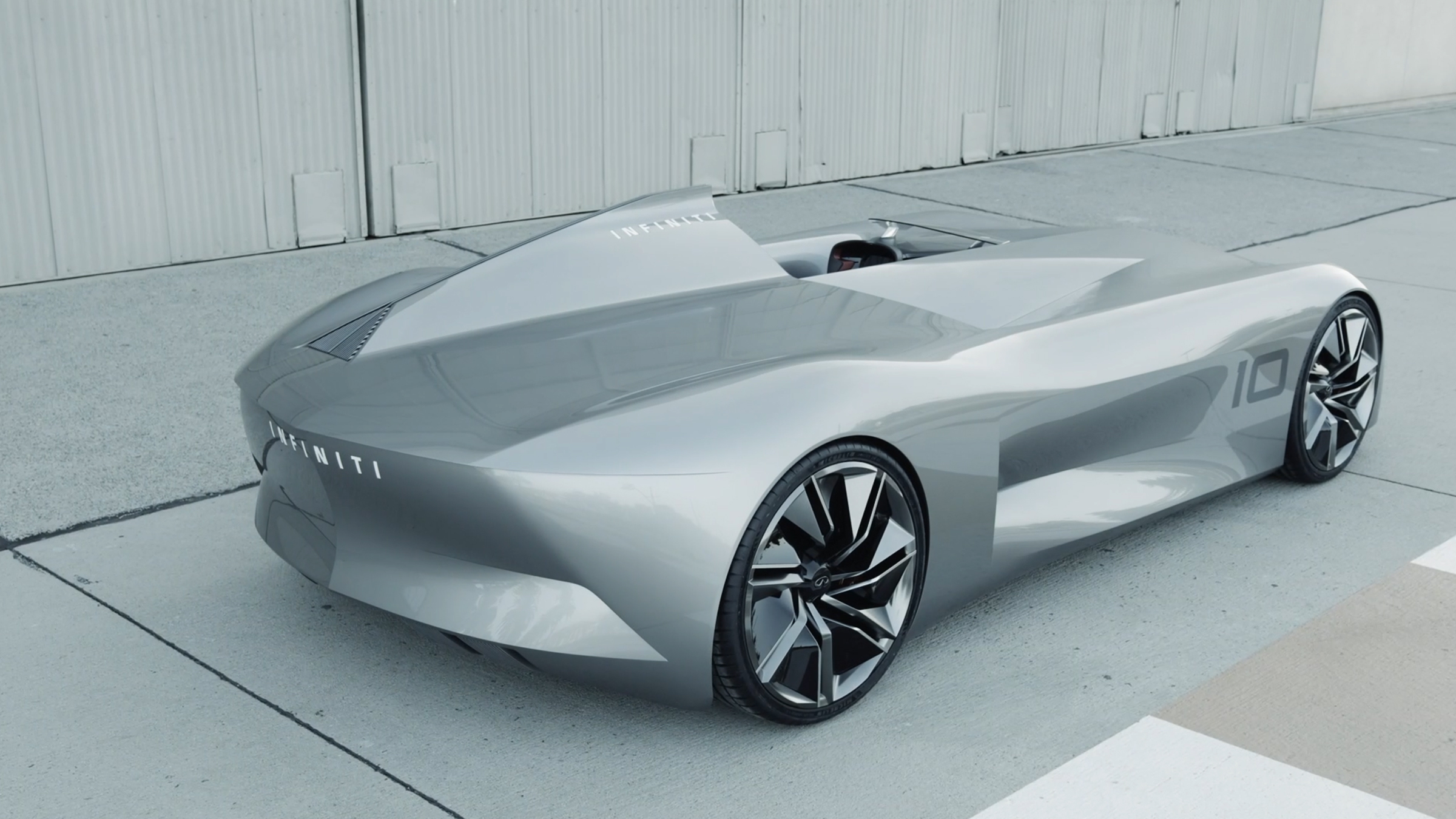 INFINITI Prototype 10 Concept Car Inspires All Future Electrified INFINITI Car Models